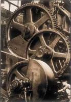 "Margaret Bourke-White ""Chrysler: Gears"" 1929 131/4 x 9 1/16 inches"